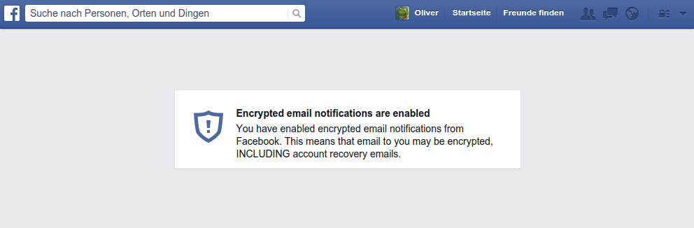 Facebook verschickt nun auch PGP-verschlüsselte Mails